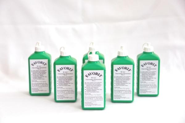 WSC Glasreiniger 500ml Flasche